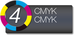 Dual CMYK Ink Configuration